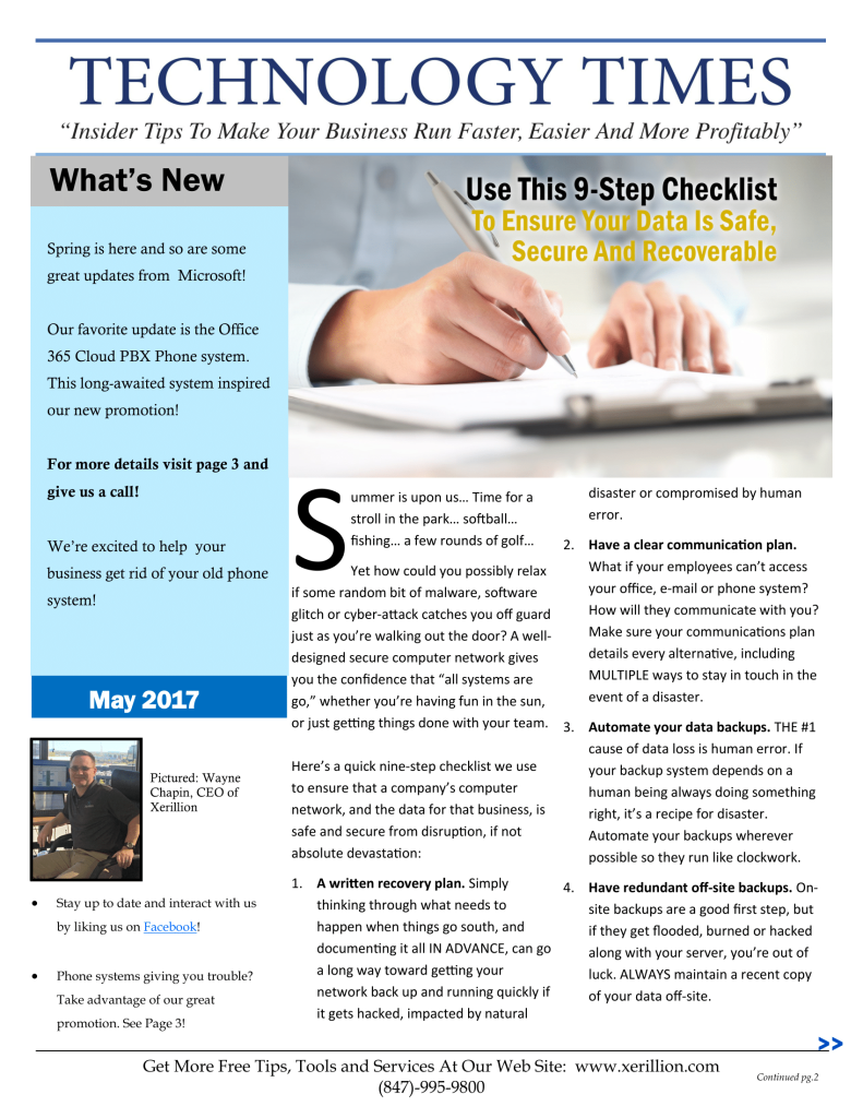 May 2017 Newsletter-1
